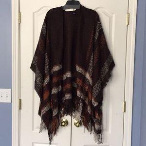 Accessories - Plaid wrap/shawl